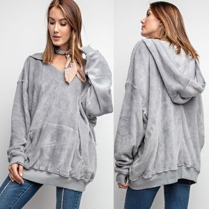 MIKAYLA Oh So Soft Top- GREY